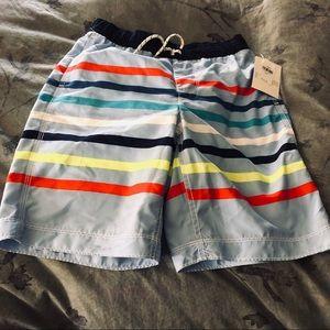 Gap Boys Striped Board Shorts